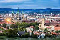 Der Bamberger Dom gehört zu den deutschen Kaiserdomen und ist mit seinen vier Türmen das beherrschende Bauwerk der Bamberger Altstadt.