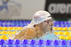 20.08.2014, Europa Sportpark, Berlin, GER, LEN, Schwimm EM 2014, 200m, Lagen, Männer, Finale, im Bild Markus Deibler, (Deutschland) // during the final of men's 200m Medley of the LEN 2014 European Swimming Championships at the Europa Sportpark in Berlin, Germany on 2014/08/20. EXPA Pictures © 2014, PhotoCredit: EXPA/ Eibner-Pressefoto/ Lau<br /> <br /> *****ATTENTION - OUT of GER*****