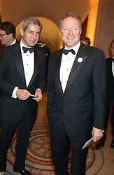 Left to right, STUART ROSE and RORY BREMNER at a fundraising gala to celebrate 150 years of The National Portrait Gallery, at the NPG, St.Martin's Place, London on 28th February 2006.<br /><br />NON EXCLUSIVE - WORLD RIGHTS