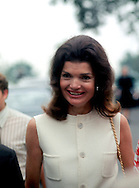 ..Jackie Kennedy in June of 1972..PHOTO BY DENNIS BRACK B 5