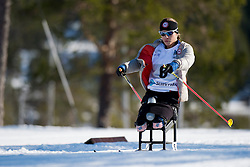 MASTERS Oksana, USA, Middle Distance Cross Country, 2015 IPC Nordic and Biathlon World Cup Finals, Surnadal, Norway
