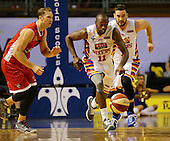 NBL Adelaide 36ers v Wollongong Hawks Sunday 18th January 2015
