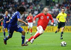 30.05.2010, UPC Arena, Graz, AUT, WM Vorbereitung, Japan vs England, im Bild Wayne Rooney, England, EXPA Pictures © 2010, PhotoCredit: EXPA/ S. Zangrando / SPORTIDA PHOTO AGENCY