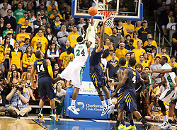 January 18, 2012: NCAA Men's D-1 Basketball West Virginia vs. Marshall. The game was played at the Charleston Civic Center in Charleston, WV. Mandatory Credit: Ben Queen