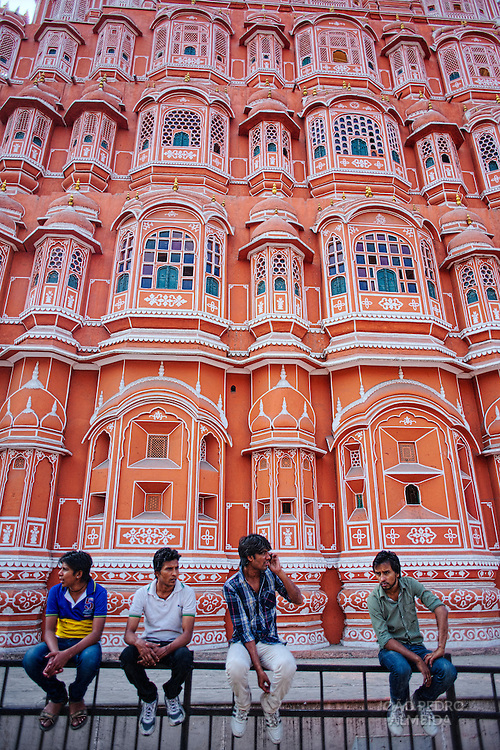 The palace of the winds at Jaipur's old town