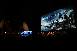 Cast and crew from the film attend the Sydney Premiere of first Aussie Netflix Original, Tidelands at Bennelong Lawn, Royal Botanic Gardens. 10 Dec 2018 Pictured: cast and crew. Photo credit: Richard Milnes / MEGA TheMegaAgency.com +1 888 505 6342