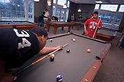 New Baker Center Interior Shots/students...Josh Cosper, J. Jivens(red shirt)