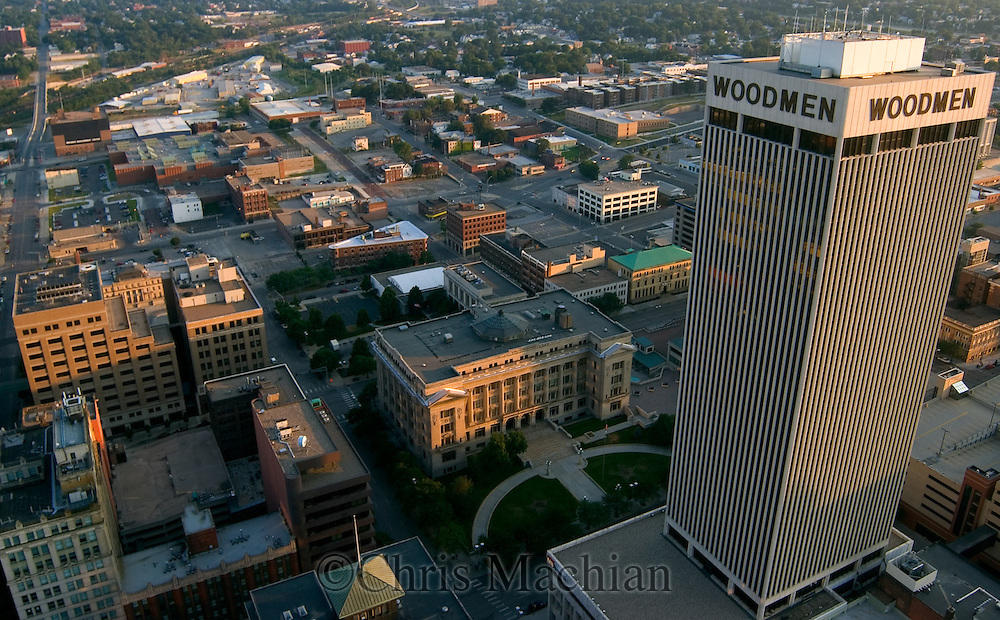 Downtown Omaha, Nebraska.<br />