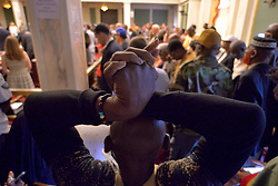 Community members and activist give testimony on a resolution regarding controversial social media posts by officers with the Philadelphia Police Department at City Council, in Philadelphia, PA, on June 20, 2019. Commissioner Richard Ross announced that 72 officers were taken off streets duty after an investigation by the Pain View Project showed racist posts by more than 300 (active and retired) police officers.
