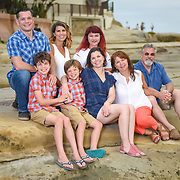 Edgington Family Portraiture La Jolla 2017