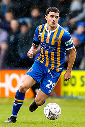 Oliver Norburn of Shrewsbury Town - Mandatory by-line: Robbie Stephenson/JMP - 26/01/2019 - FOOTBALL - Montgomery Waters Meadow - Shrewsbury, England - Shrewsbury Town v Wolverhampton Wanderers - Emirates FA Cup fourth round