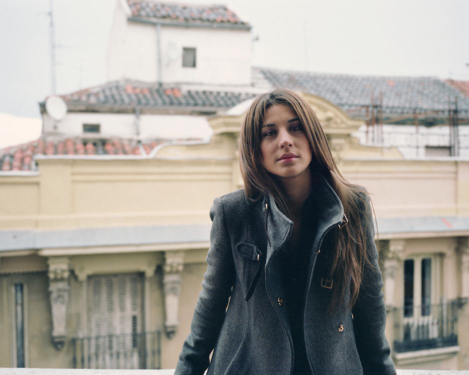 SARA MEDINA. Violinist.