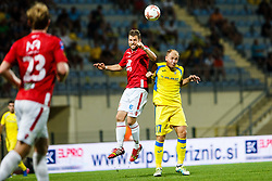 Senijad Ibricic of NK Domzale during 2nd Leg football match between FC Valur Reykjavik and NK Domzale in 2nd Qualifying Round of UEFA Europa League 2017/18, on July 20, 2017 in Domzale, Slovenia. Photo by Grega Valancic / Sportida
