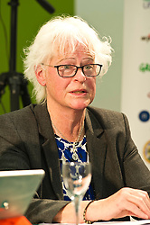 Pictured: Ettie Spencer (Lib Dem candidate   for East Lothian and the South Scotland regional list)<br /> <br /> Candidates from the five main parties will face questions from both a live audience and viewers at home via videolink and social media at an event organised by Stop Climate Chaos Scotland and chaired by journalist David Torrance. The panelists are Labour's Sarah Boyack, Mark Ruskell of the Greens, Ben MacPherson of the SNP, the Lib Dems' Ettie Spencer and Tory Jeremy Balfour<br /> <br /> Ger Harley | EEm 18 April 2016
