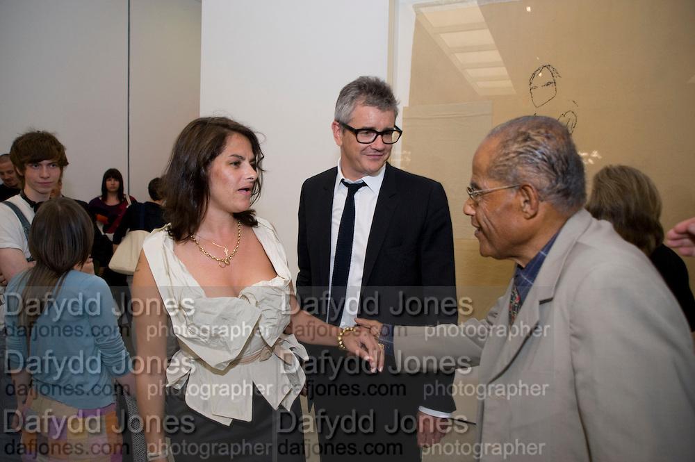 JAY JOPLING; TRACEY EMIN; INVAR EMIN, Tracey Emin opening. White Cube. Mason's Yard. London. 28 May 2009.