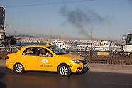 TRS247A Istanbul Yellow cabs