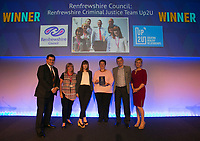 Winners at the very first Scottish Social Services Awards - Crieff Hydro