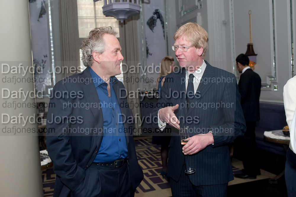 HENRY PORTER; DAVID GODWIN, Henry Porter hosts a launch for Songs of Blood and Sword by Fatima Bhutto. The Artesian at the Langham London. Portland Place. 15 April 2010. *** Local Caption *** -DO NOT ARCHIVE-© Copyright Photograph by Dafydd Jones. 248 Clapham Rd. London SW9 0PZ. Tel 0207 820 0771. www.dafjones.com.<br /> HENRY PORTER; DAVID GODWIN, Henry Porter hosts a launch for Songs of Blood and Sword by Fatima Bhutto. The Artesian at the Langham London. Portland Place. 15 April 2010.