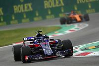 Brendon Hartley Toro Rosso Honda<br /> Monza 31-08-2018 GP Italia <br /> Formula 1 Championship 2018 <br /> Foto Federico Basile / Insidefoto