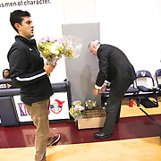 Senior Night ceremony Varsity Game