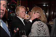 ANTONY LITTLE; LUCY FOX, VISCOUNTESS GORMANSTON, Ralph Lauren host launch party for Nicky Haslam's book ' A Designer's Life' published by Jacqui Small. Ralph Lauren, 1 Bond St. London. 19 November 2014