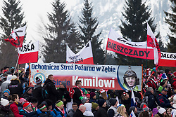 Supporters from Polans during Ski Flying Hill Individual Competition at Day 4 of FIS Ski Jumping World Cup Final 2018, on March 25, 2018 in Planica, Ratece, Slovenia. Photo by Urban Urbanc / Sportida
