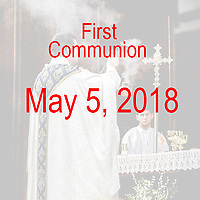 St Catherine 1st Communion 05-05-18
