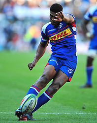 Cape Town-180317Damien Willemse of the DHL Stomers scoring a conversio try against Blues in the Super Rugby tournament  at Newlands rugby stadium.He was named the man of the match,Stomers won 37-20  Photograph:Phando Jikelo/African News Agency/ANA