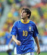 FUSSBALL WM 2010   VIERTELFINALE      02.07.2010 Holland - Brasilien KAKA (Brasilien)