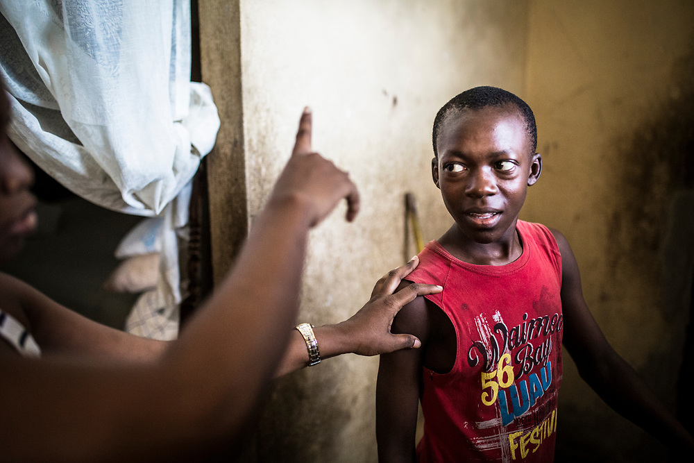 Many restavek children face serious abuse in the houses where they live and work.