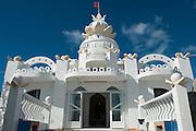 Mauritius. Hindu Temple on the coast.
