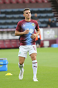 18 Ashley Westwood for Burnley FC during the Europa League third qualifying round leg 2 of 2 match between Burnley and Istanbul basaksehir at Turf Moor, Burnley, England on 16 August 2018.