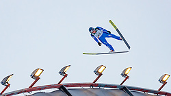 01.03.2017, Lahti, FIN, FIS Weltmeisterschaften Ski Nordisch, Lahti 2017, Nordische Kombination, Skisprung, Grossschanze HS130 m, im Bild Tim Hug (SUI) // Tim Hug of Switzerland during Skijumping competition of Nordic Combined of FIS Nordic Ski World Championships 2017. Lahti, Finland on 2017/03/01. EXPA Pictures © 2017, PhotoCredit: EXPA/ JFK
