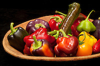 peppers, poivrons- Photograph by Owen Franken - Photograph by Owen Franken