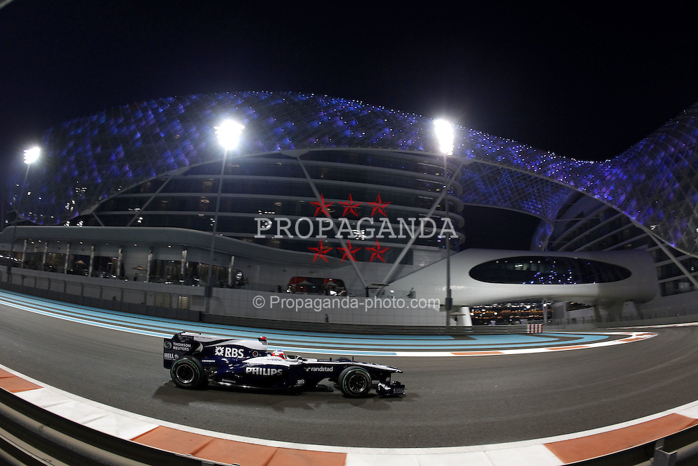 Motorsports / Formula 1: World Championship 2010, GP of Abu Dhabi, 09 Rubens Barrichello (BRA, AT&T Williams),
