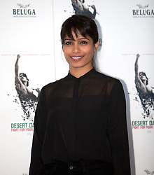 © Licensed to London News Pictures. 09/10/2012. London, U.K..Freida Pintoat the Photo call held at Sadlers Wells theatre with FOR the film DESERT DANCER directed by Richard Raymond and choreographed by Akram Khan. ..Photo credit : Rich Bowen/LNP
