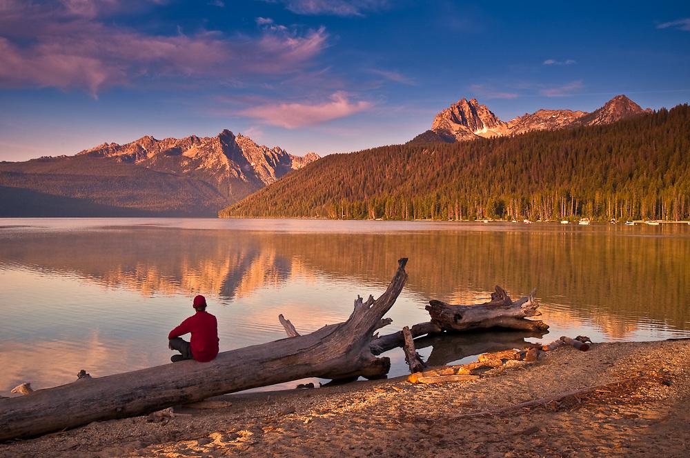 Redfish Lake, near Stanley Idaho.