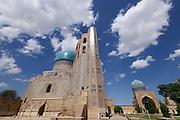 Uzbekistan, Samarqand.<br /> Bibi-Khanym Mosque.