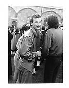 Valentine Guinness. Christ Church College May Ball. Oxford. 1982 approx. © Copyright Photograph by Dafydd Jones 66 Stockwell Park Rd. London SW9 0DA Tel 020 7733 0108 www.dafjones.com