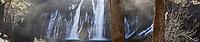 Burney Falls Panoramic Photo, McArthur-Burney Falls State Park, California
