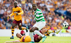 Celtic's Moussa Dembele (right) and Motherwell's Tom Aldred during the William Hill Scottish Cup Final at Hampden Park, Glasgow.