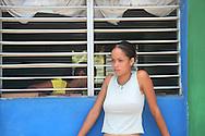 Woman in Las Coloradas, Granma, Cuba.