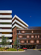 parramatta leagues club car park.  designed by HASSELL studio and built by ADCO