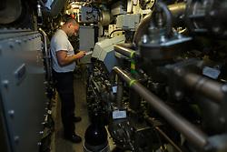 Auf Tauchstation: U-34 bei einem NATO Manöver in der Ostsee<br /> <br /> / 300816<br /> <br /> *** German submarine U 34 during Northern Coasts 2016 exercise in the Baltic Sea; August 30th, 2016 ***