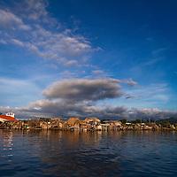 Sunset in Yandup. San Blas, Panama
