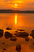 Sunset on Berford Lake<br /> Bruce Peninsula<br /> Ontario<br /> Canada