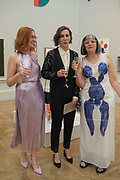FLO PERRY, LAUREN FITZGERALD; PHILLIPA PERRY; , Royal Academy Summer Exhibition party. Burlington House. Piccadilly. London. 6 June 2018