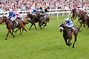 PIVOINE (4) ridden by Rob Hornby and trained by Andrew Balding winning The John Smiths Diamond Jubilee Cup over 1m 2f (£200,000)  during the John Smiths Diamond Cup Meeting at York Racecourse, York, United Kingdom on 13 July 2019.