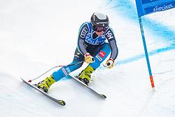 19.12.2018, Saslong, St. Christina, ITA, FIS Weltcup Ski Alpin, SuperG, Damen, im Bild Lisa Hoernblad (SWE) // Lisa Hoernblad of Sweden in action during her run in the ladie's Super-G of FIS ski alpine world cup at the Saslong in St. Christina, Italy on 2018/12/19. EXPA Pictures © 2018, PhotoCredit: EXPA/ Johann Groder