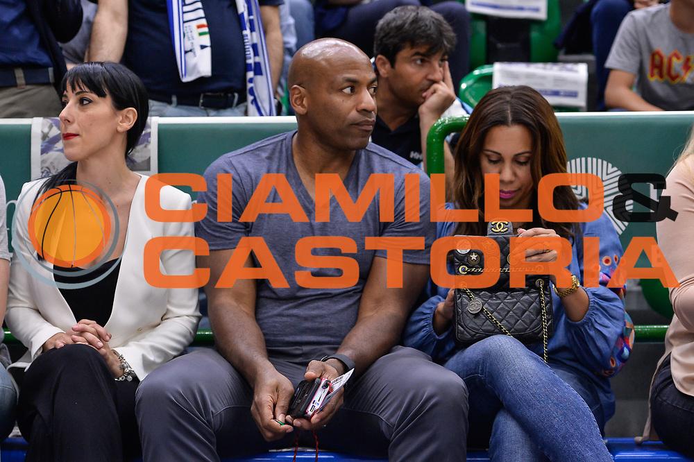 Dell Demps GM New Orleans Pelicans<br /> Banco di Sardegna Dinamo Sassari - Dolomiti Energia Aquila Basket Trento<br /> Legabasket Serie A LBA Poste Mobile 2016/2017<br /> Playoff Quarti Gara3<br /> Sassari 16/05/2017<br /> Foto Ciamillo-Castoria